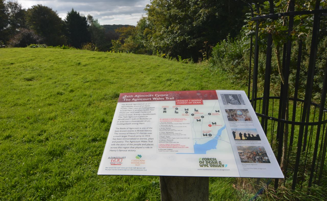 Agincourt Trail at St Briavels